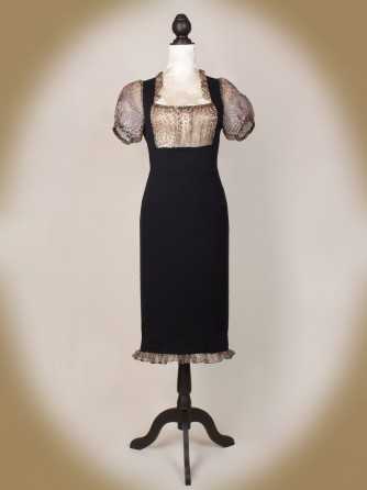 Mme soiree Kleid front