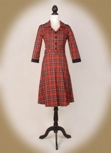 Red Tartan Uniform front