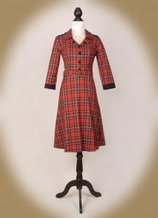 Red Tartan Uniform front