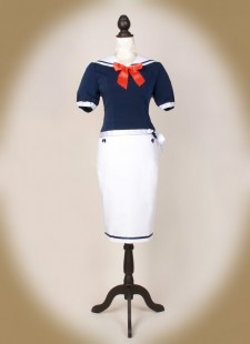 Sailor Bluse front PS weiß