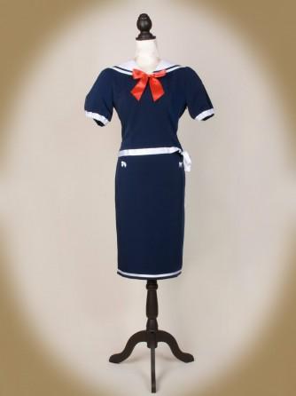 Sailor Kombi blau front