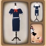 ponymaedchen_lookbook_grosshandel_2014_Backfisch Rock & Sailor Bluse