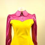 ♥ 60's Pop Art Kunstlederkleid ♥