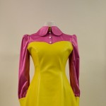 ♥ 60's Pop Art Kunstlederkleid ♥